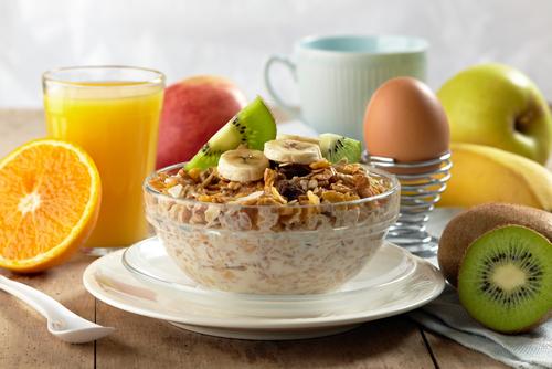 Healthy morning food